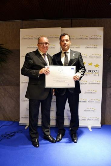 The European Association of Economy and Competitiveness awards APRIA Systems the Gold Medal for Merit at Work