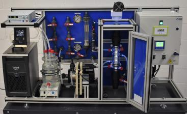 Photocatalysis and electrochemical oxidation equipment for the University of Cantabria.