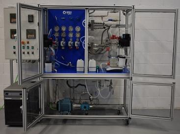 Forward osmosis and pressure retarded osmosis plant for the University of Technology Sydney.