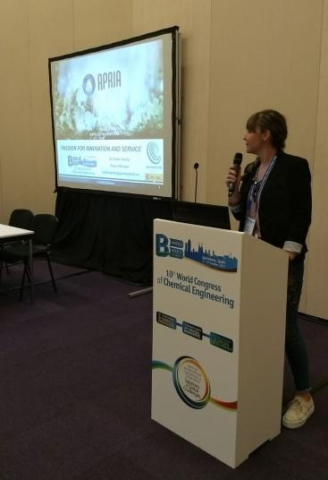 Apria Systems attends to the 10th World Congress of Chemical Engineering