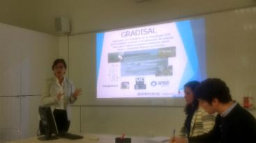 GRADISAL project presented at the Marine Energies Workshop