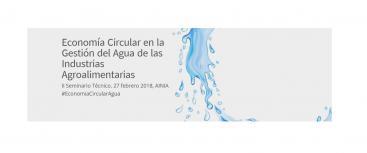 """Participation in the """"II Seminario técnico sobre gestión eficiente del agua en las industrias agroalimentarias"""""""