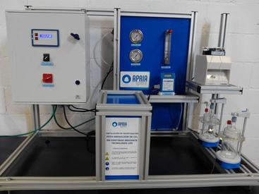 Delivery of a CO2 photo-reduction equipment to the University of Cantabria