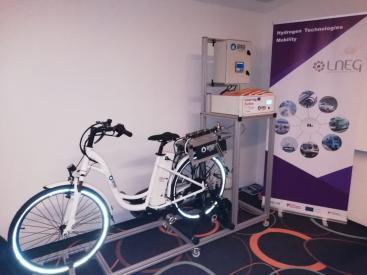 PEMFC-SUDOE H2 bike prototype