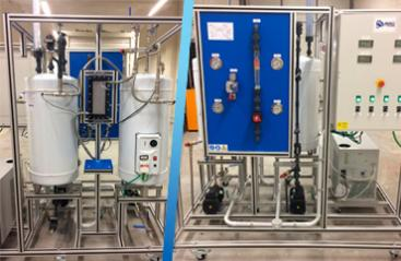 Delivery of membrane distillation plant to the University of Cádiz