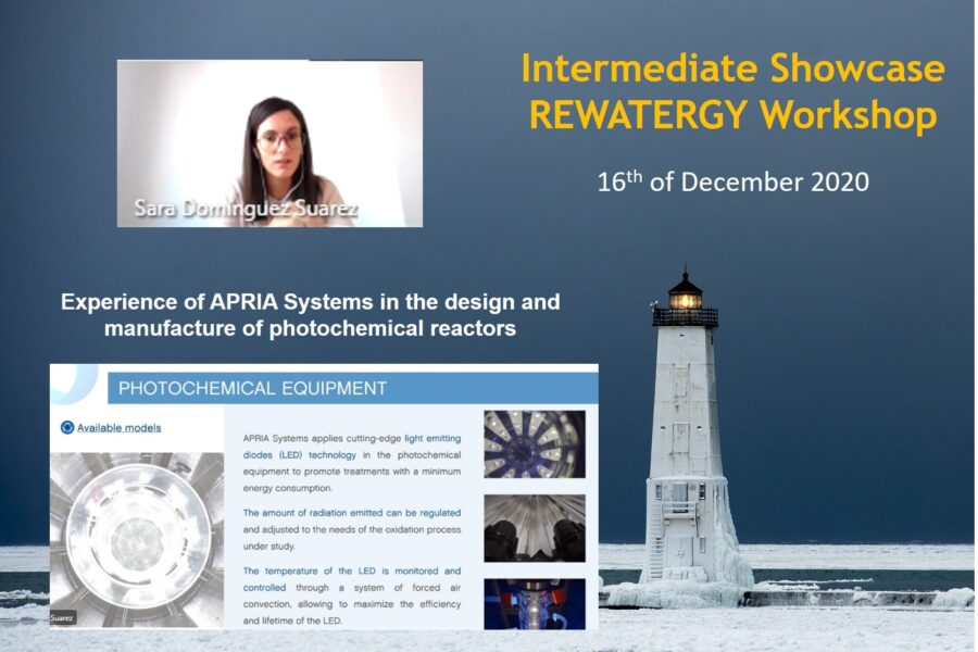 Participation in the workshop organized by REWATERGY