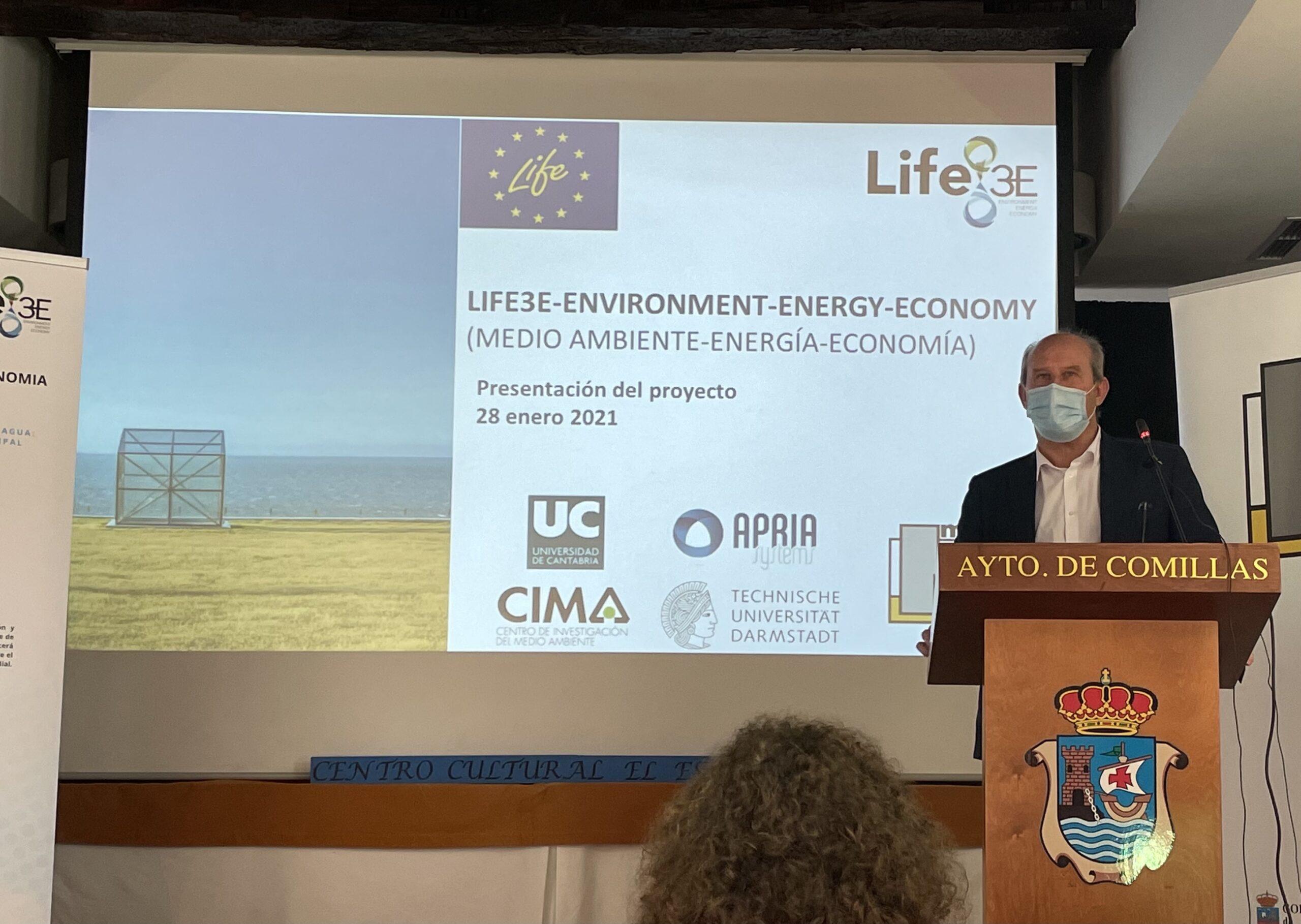 Presentation of the European project LIFE-3E